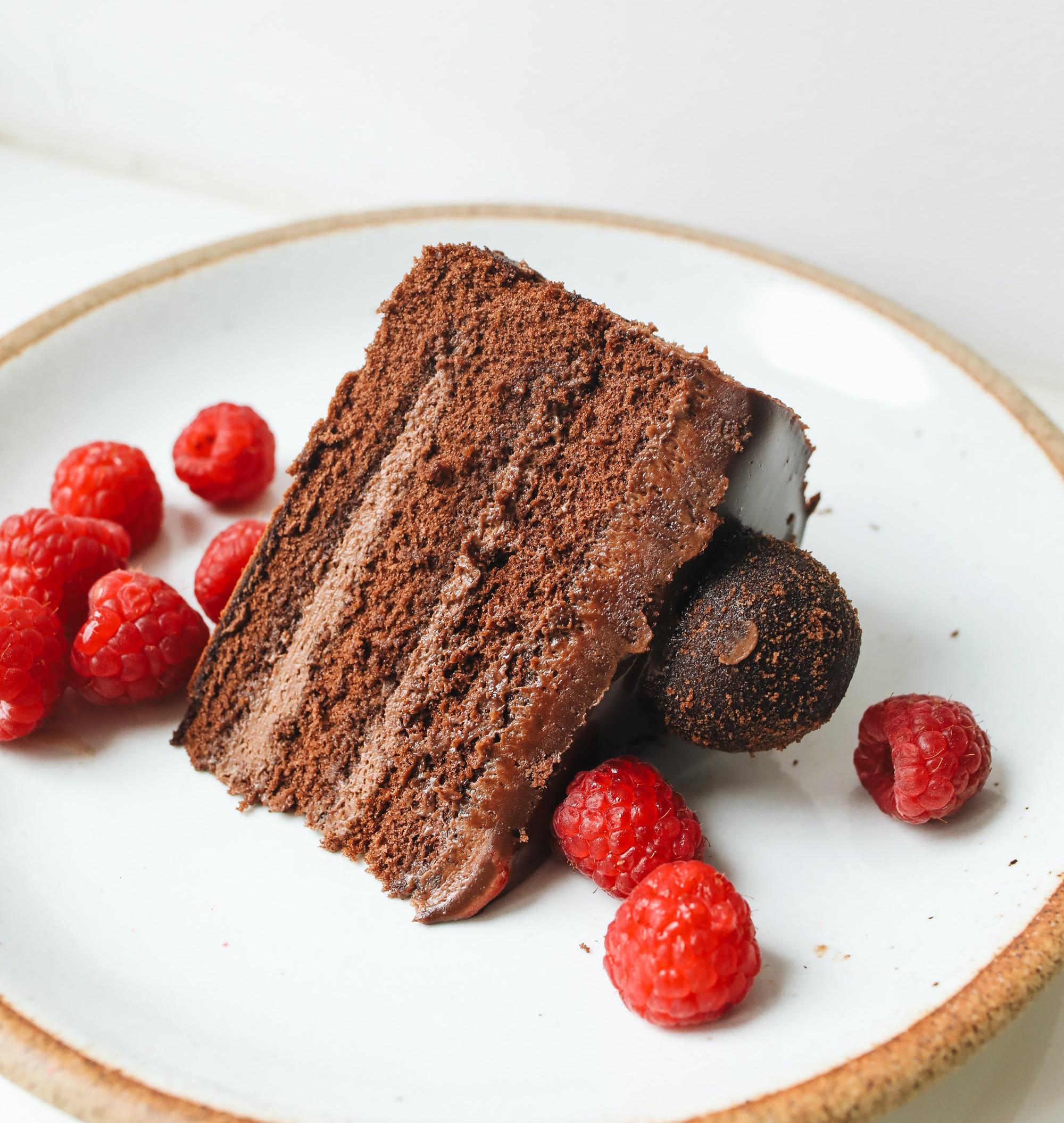Double Chocolate Fudge Gateau