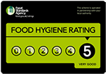 food hygiene certificate rating 5